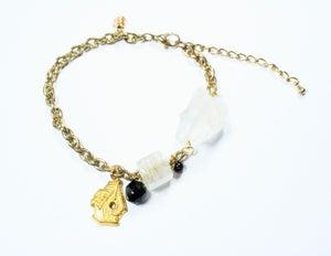 Image of birdhouse bracelet