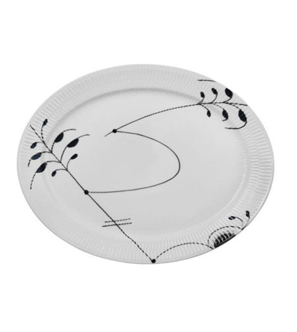 Image of Fluted Mega -- Oval Platter