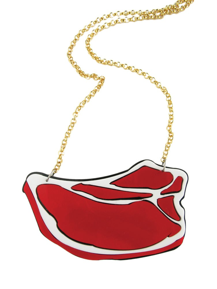 "Image of ""Piece of Meat"" Necklace"