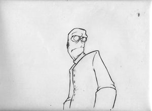 """Image of Animation Drawing from """"Masks"""" Sc 41 a-008"""