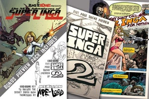Image of SUPER INGA the comic book! [with 2nd issue preview]