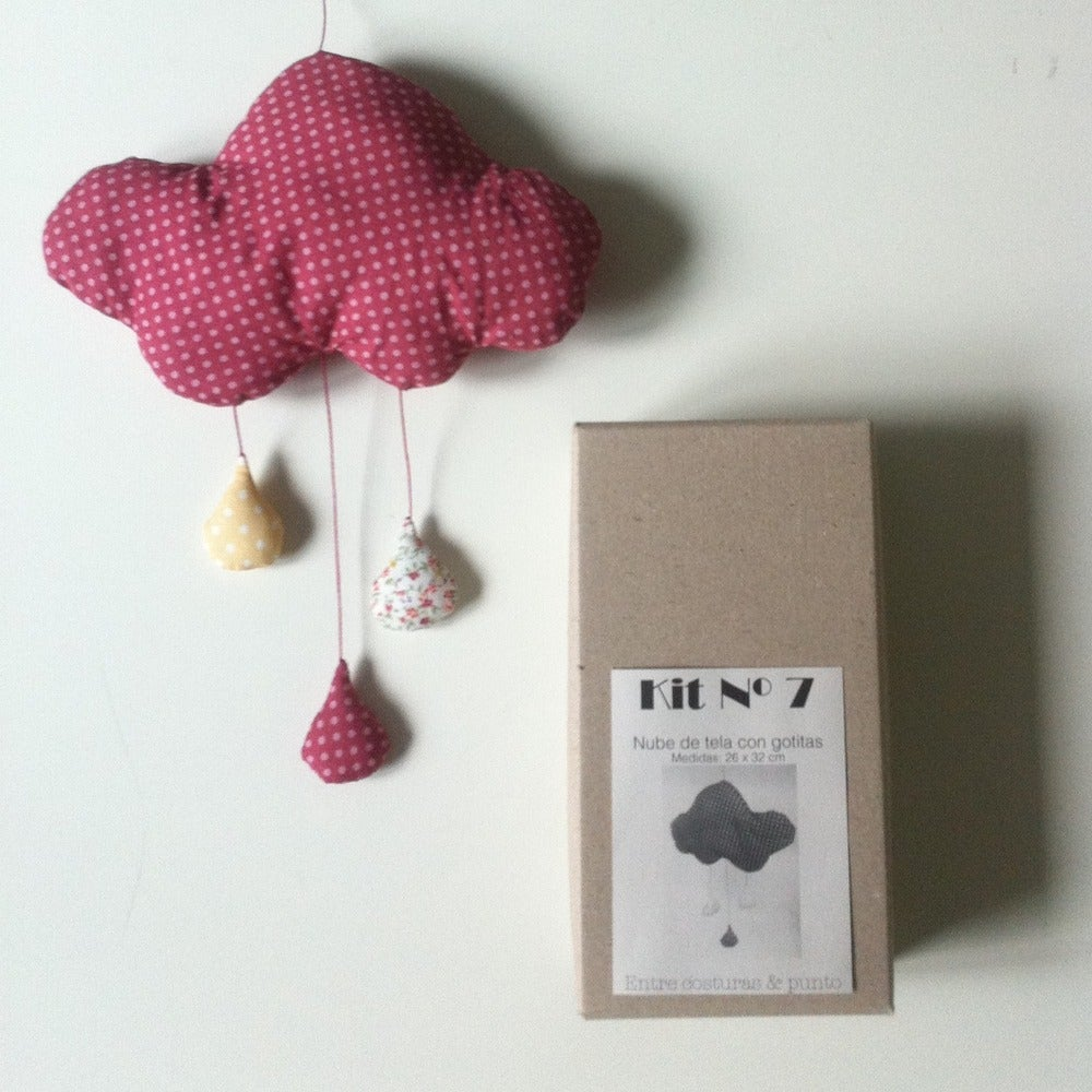 Image of KIT Nº 7: Nube con gotitas