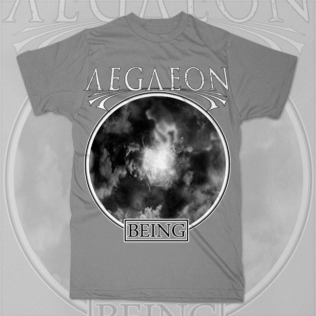 "Image of Gray ""Being"" Tee"