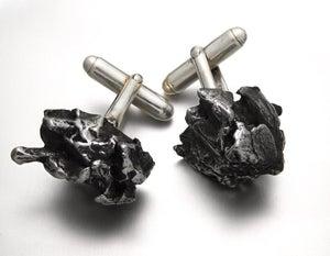 Image of Meteorite Cuff Links