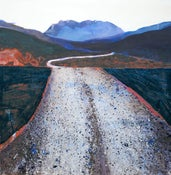Image of Road like a Ribbon - Towards the Black Cuillins Skye Scotland