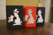 Image of UK map cards