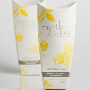 Image of Sublime Hand Cream - Mandarin, Lemon Myrtle & Orange Peel - 75ml