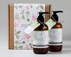 Image of Gift Box – Hand & Body Wash and Body Lotion - Bergamot Rind, Tangerine & Geranium Leaf