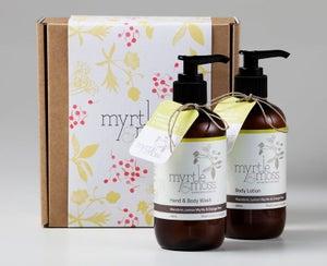 Image of Gift Box - Body Wash & Body Lotion- Mandarin, Lemon Myrtle & Orange Peel