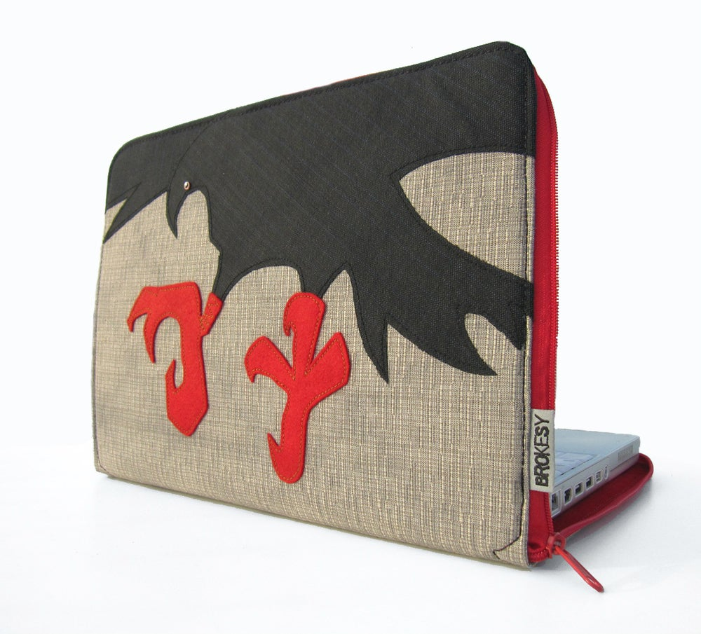 Image of Laptop Case - The Crow