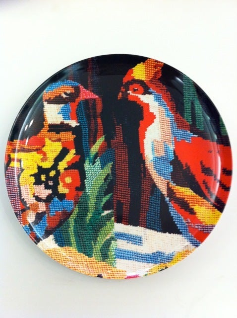 Image of Tapestry plate set