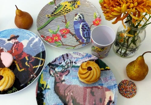 Image of Tapestry dinner set