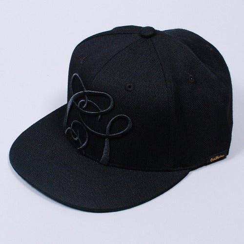 Image of Quicksand Snapback Cap (Black)