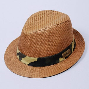 Image of Hanoi Straw Fedora (Tan)