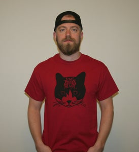 Image of GZTV Bill Murray Tee (Cardinal Red)