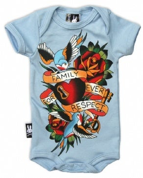 Image of Romper Suit by Six Bunnies - Family Respect Forever