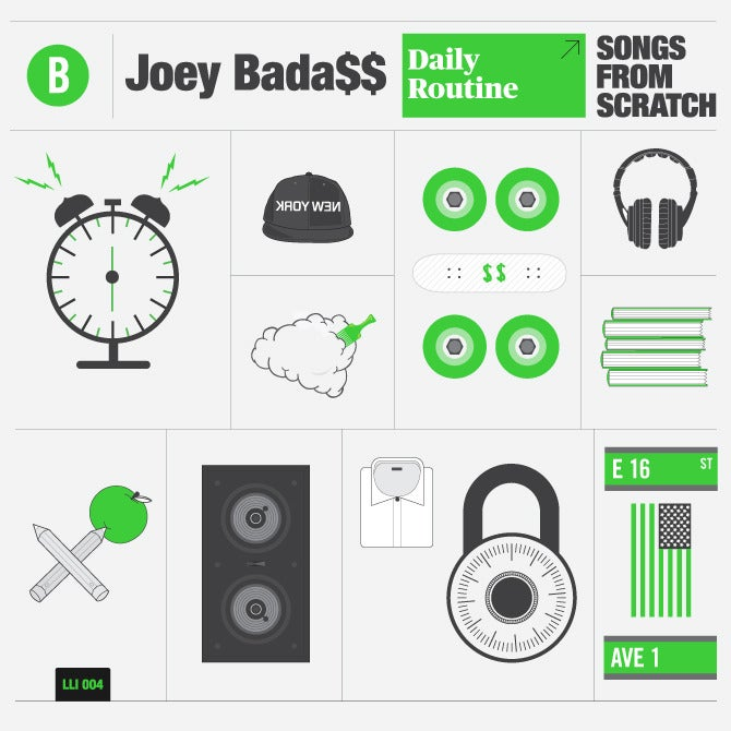 Image of Joey Bada$$ - Songs From Scratch - Love Letters Ink 004