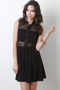 Image of Laced Layed Dress