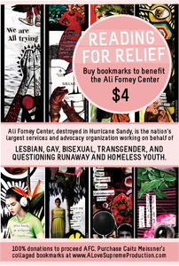 Image of Reading for Relief: Collaged Bookmarks