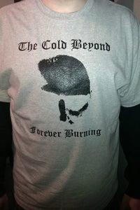 Image of Forever Burning Skull T-shirt