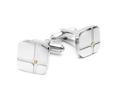 Image of Executive Cuff Links Cross Design