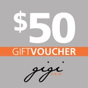 Image of $50 Gigi Hair Gift Voucher