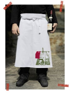 Image of Tablier/apron London Brick lane