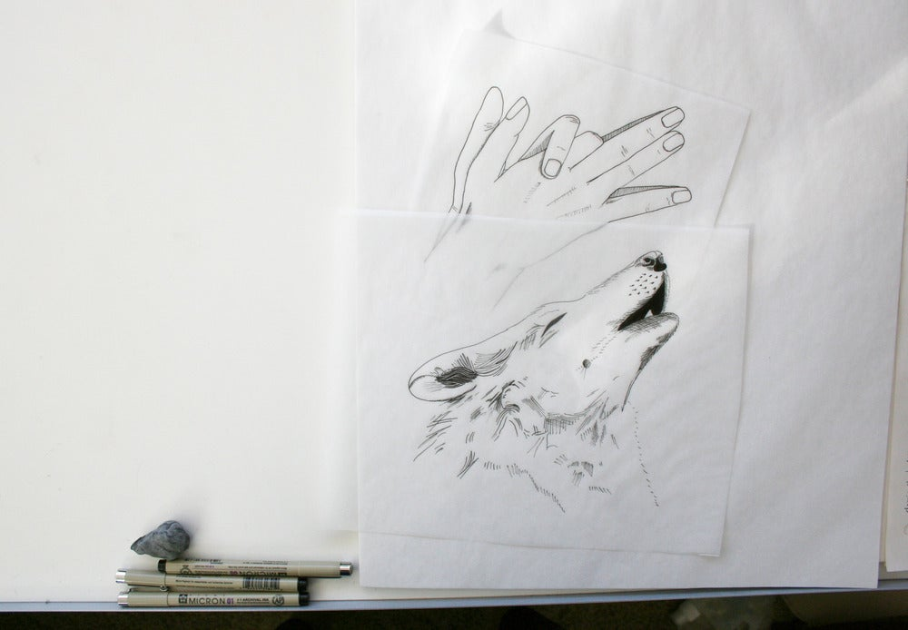 Image of Shadow Puppet Series - Wolf