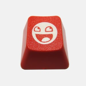 """Image of """"Bloody"""" Awesome Face Keycap"""