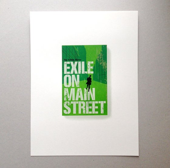 Image of Exile On Main Street Screen Print Limited Edition