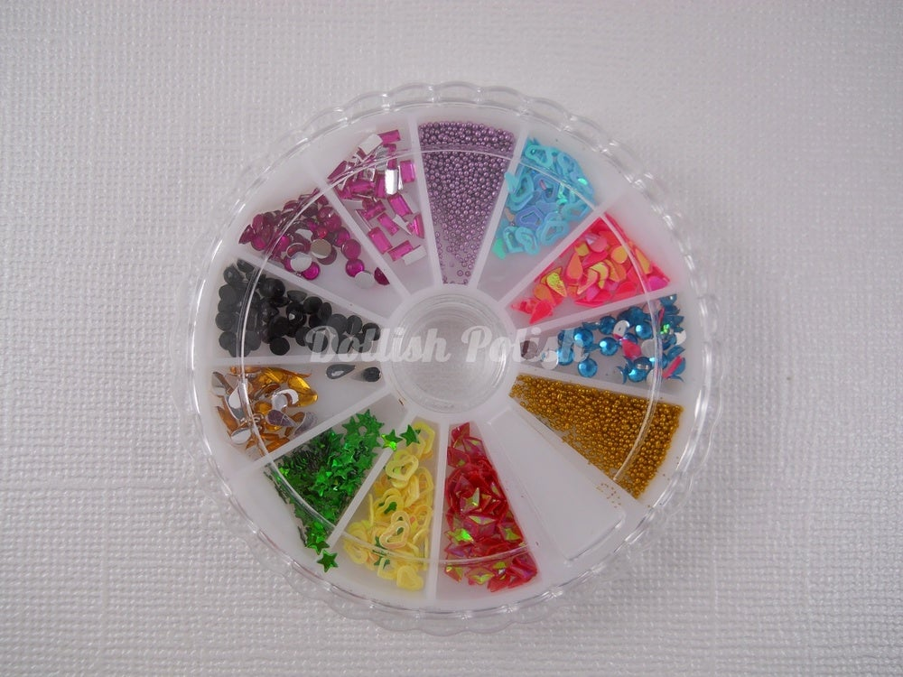 Image of 1800 Assorted Nail Art Wheel