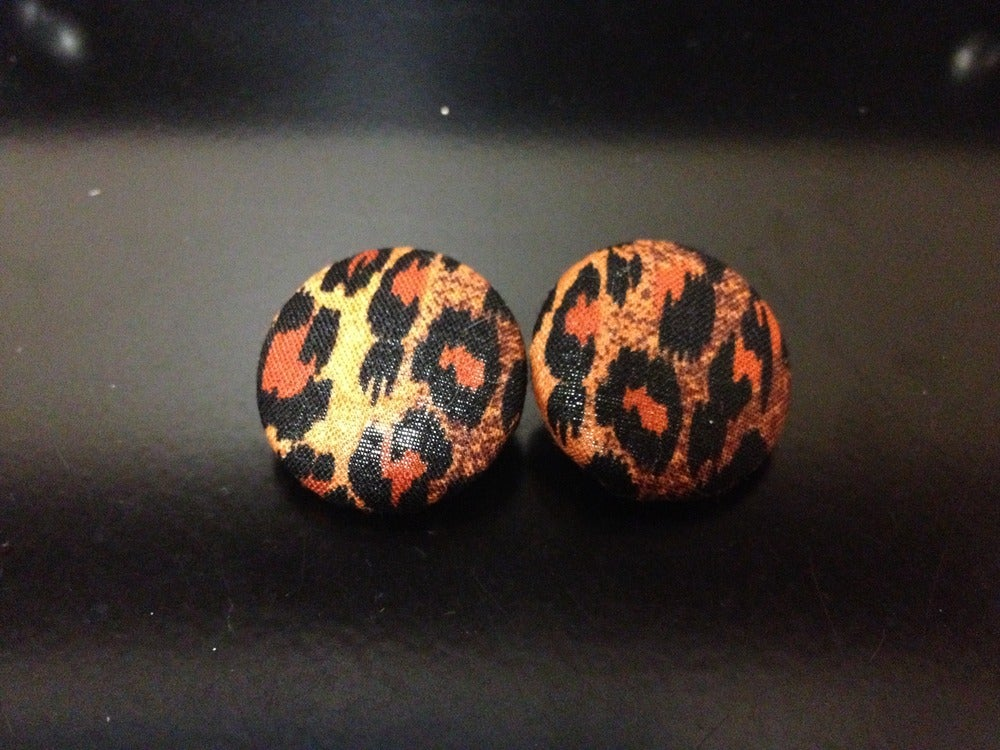 Image of Cheetah studs