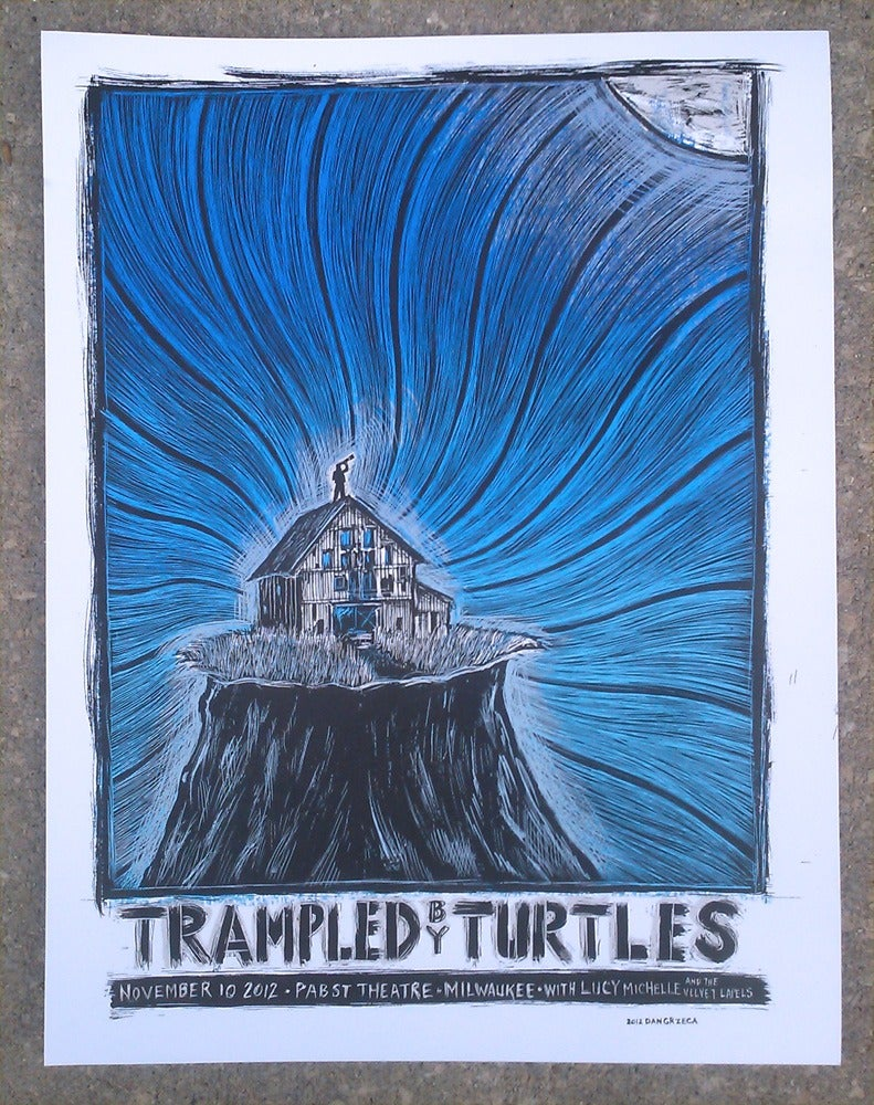 Image of Trampled By Turtles Pabst Theatre 2012