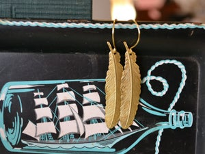 Image of Feather Dangles