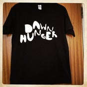 Image of Dawn Hunger logo t'shirt