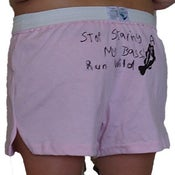 Image of Stop Staring at my Bass Ladies shorts NEW!