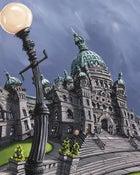Image of BC Legislature 8x10 Photographic Print