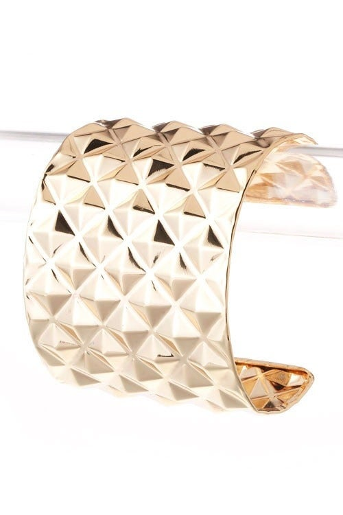 Image of Gold Studded Cuff