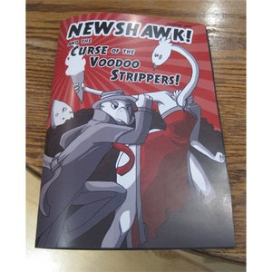 Image of Newshawk and the Curse of the Voodoo Strippers Comic Book
