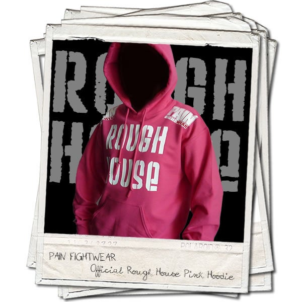 Image of OFFICIAL TEAM ROUGHHOUSE LADIES 'DISCIPLE' HOODIE