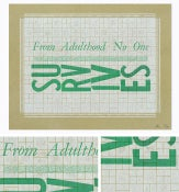 "Image of ""Adulthood"" Letterpress Print"