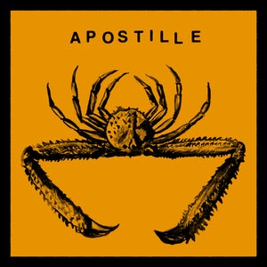 """Image of APOSTILLE - WRONG / THE ROAD TO WAR <br /> AA 7"""" 45rpm single w/ download code"""