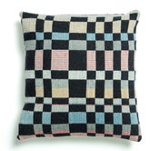 Image of Handwoven graphic UK cushion