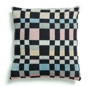 Image of Handwoven graphic UK cushion