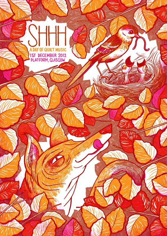 Image of Shhh Quiet Music Festival poster