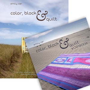 Image of Color, Block & Quilt: Book and Workbook Bundle