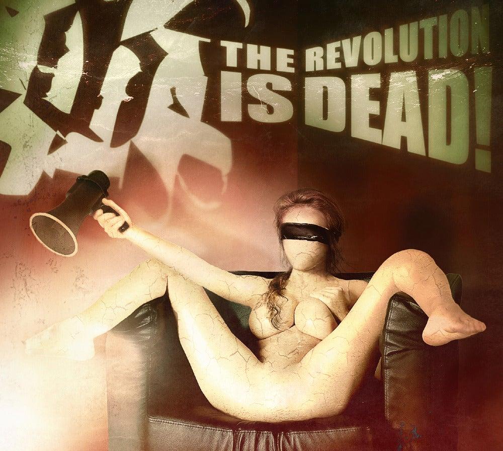"Image of Blutmond CD ""The Revolution Is Dead!"""