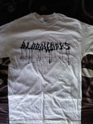 "Image of White ""Bloodworks"" tee"