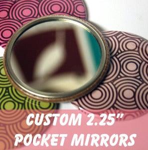 Image of Custom Pocket Mirrors