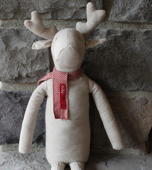 Image of Danish, Cotton Reindeer